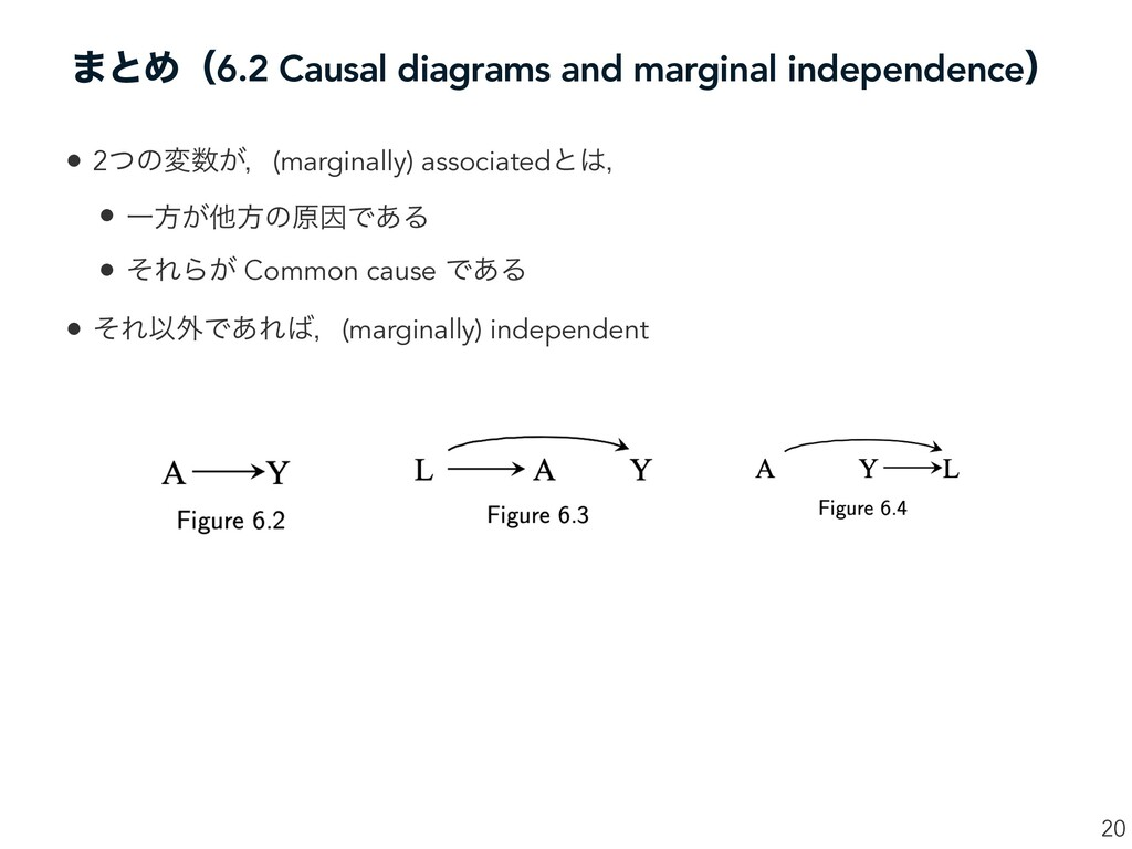 ·ͱΊʢ6.2 Causal diagrams and marginal independen...