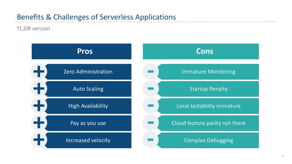 Benefits & Challenges of Serverless Application...