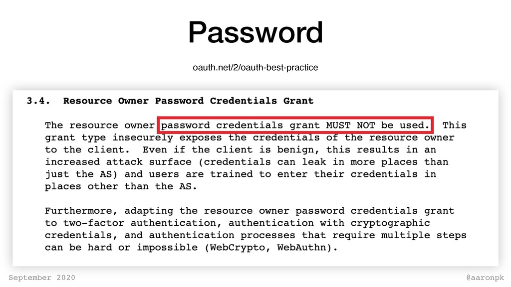 @aaronpk September 2020 Password oauth.net/2/oa...