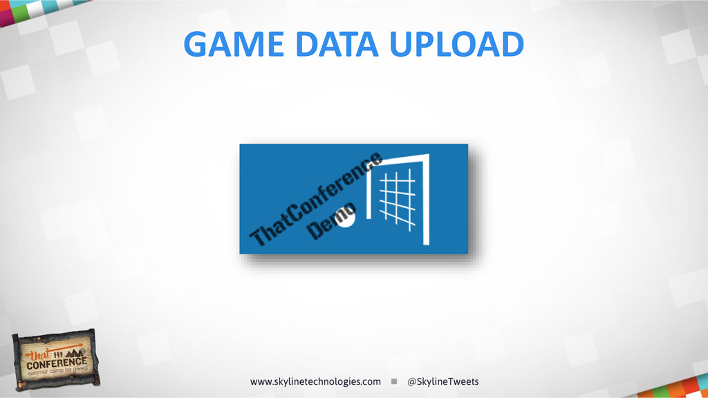 GAME DATA UPLOAD