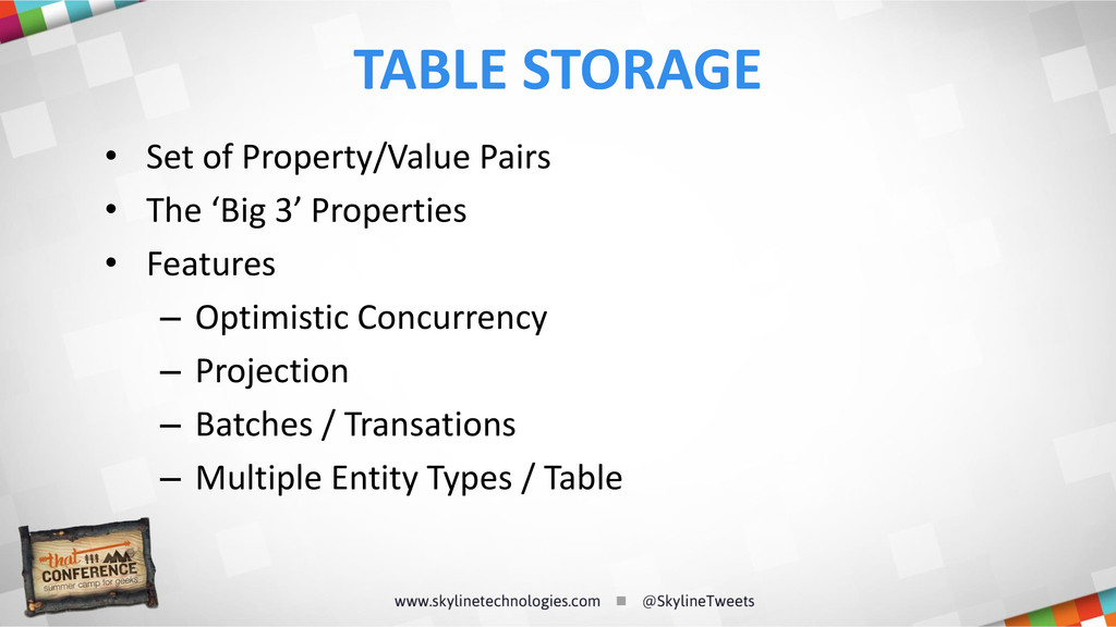 • Set of Property/Value Pairs • The 'Big 3' Pro...