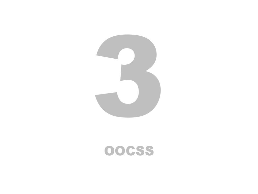 3 OOCSS