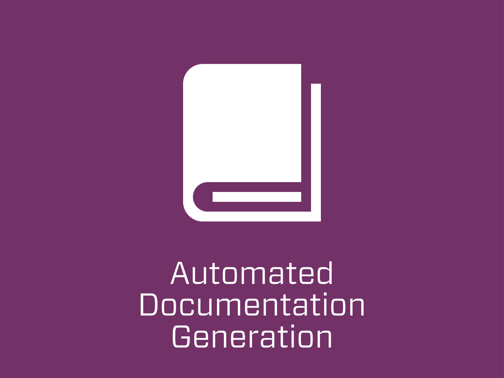 Automated Documentation Generation