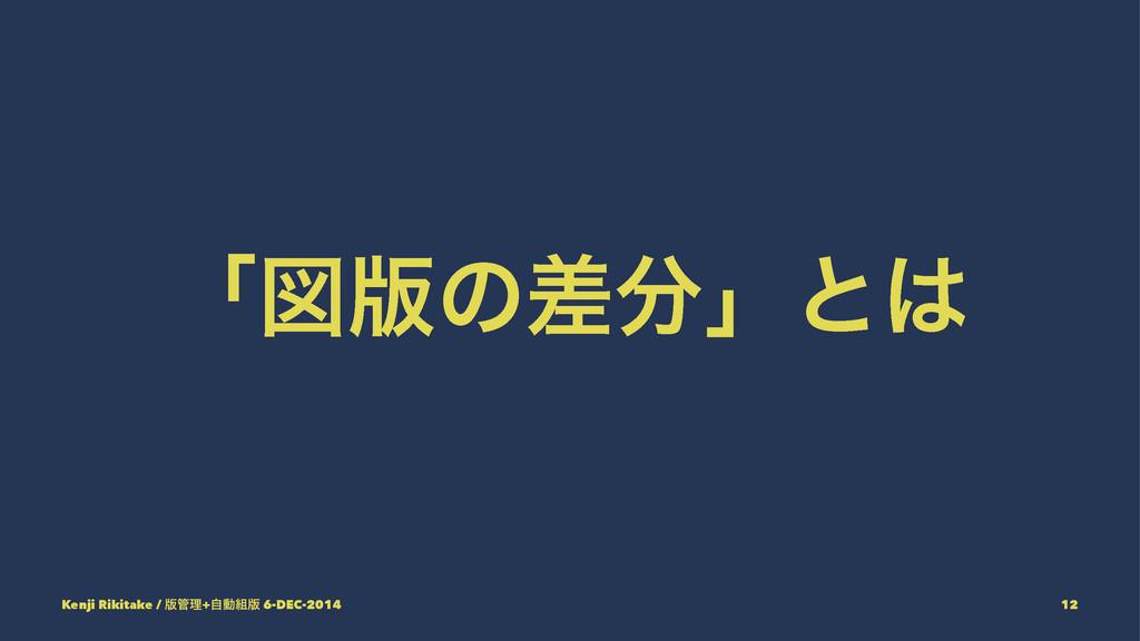 ʮਤ൛ͷࠩʯͱ Kenji Rikitake / ൛ཧ+ࣗಈ൛ 6-DEC-2014 ...