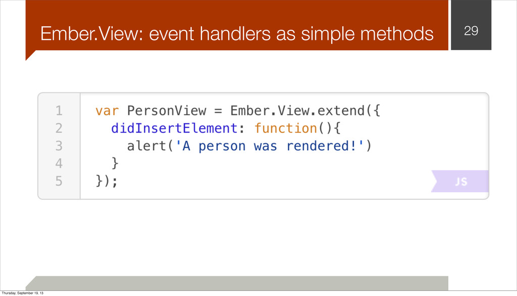 Ember.View: event handlers as simple methods 29...