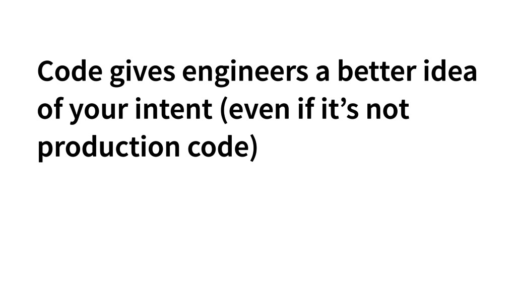 Code gives engineers a better idea of your inte...