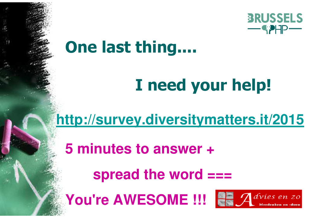 One last thing.... I need your help! http://sur...