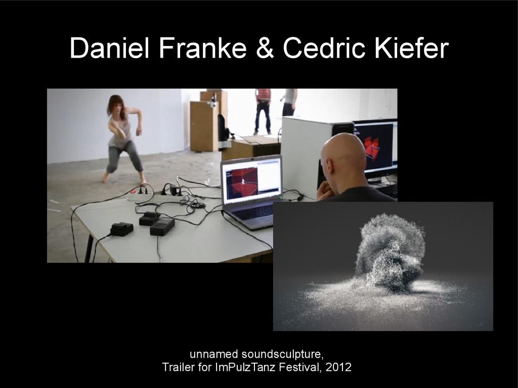 Daniel Franke & Cedric Kiefer unnamed soundscul...