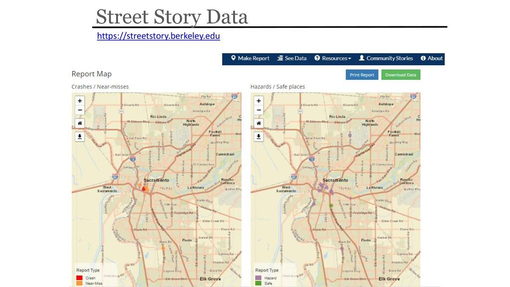 Street Story Data https://streetstory.berkeley....