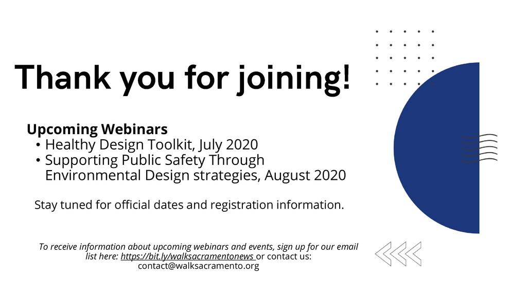 Upcoming Webinars • Healthy Design Toolkit, Jul...