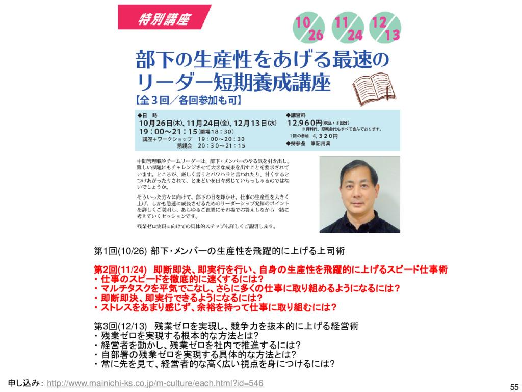55 申し込み: http://www.mainichi-ks.co.jp/m-culture...