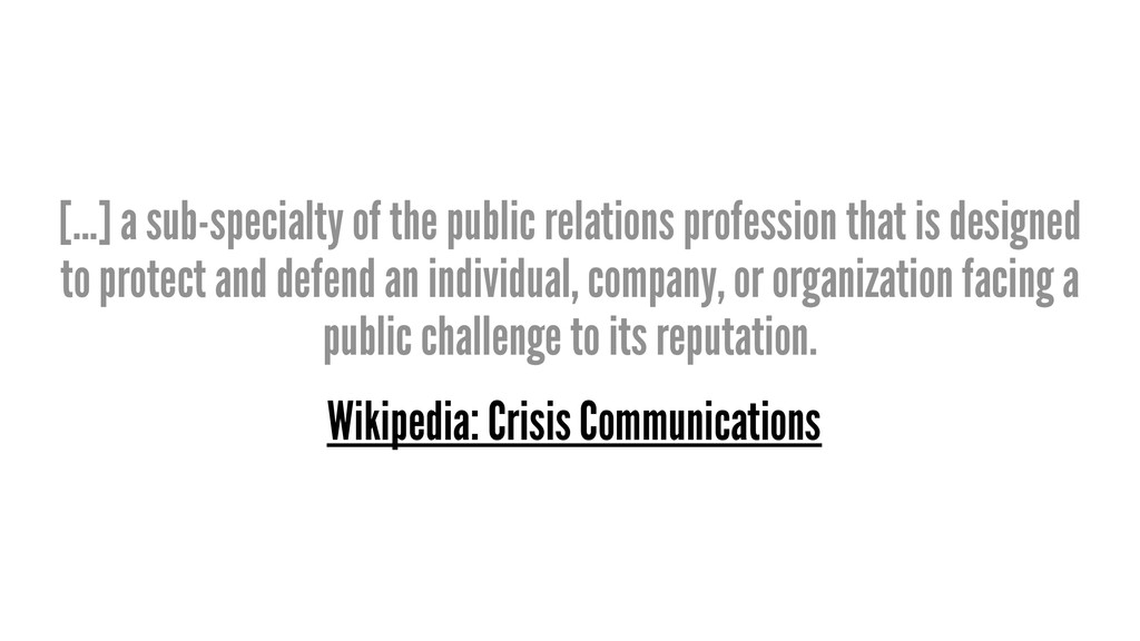 [...] a sub-specialty of the public relations p...