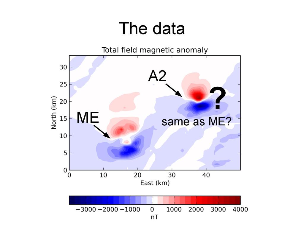 The data ME A2 ? same as ME?