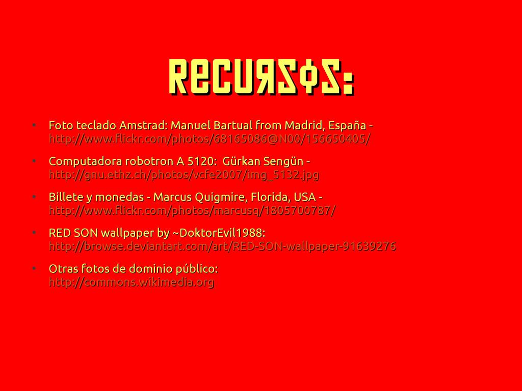 Recursos: Recursos: ● Foto teclado Amstrad: Man...