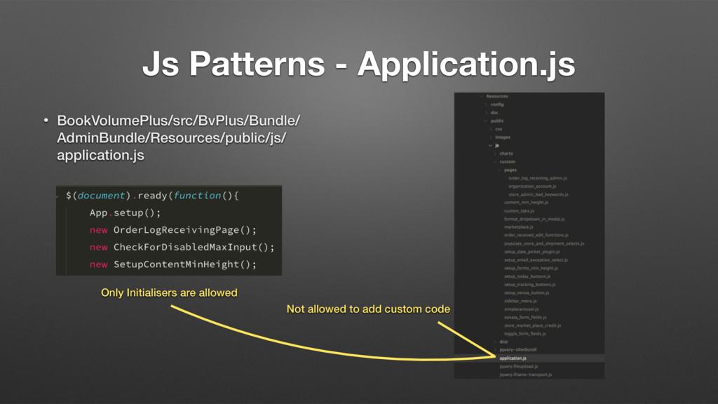 Js Patterns - Application.js • BookVolumePlus/s...