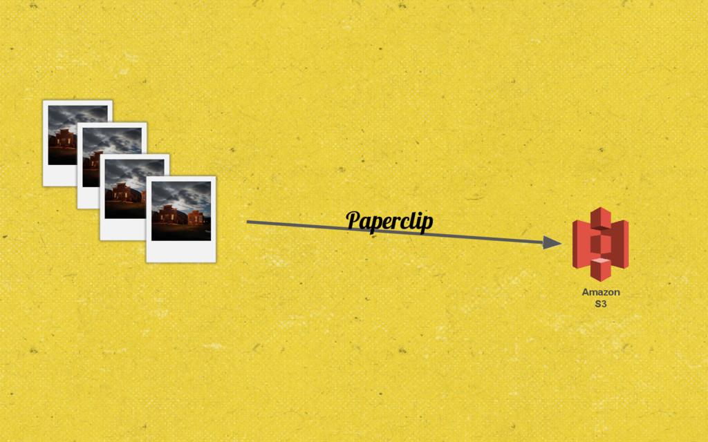 Amazon S3 Paperclip