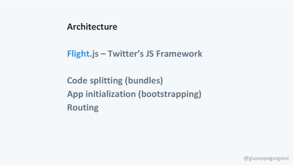 @giuseppegurgone Architecture Flight.js – Twitt...