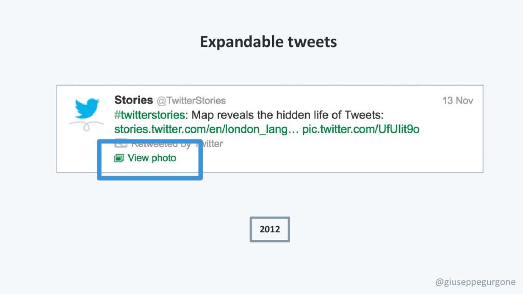 @giuseppegurgone 2012 Expandable tweets