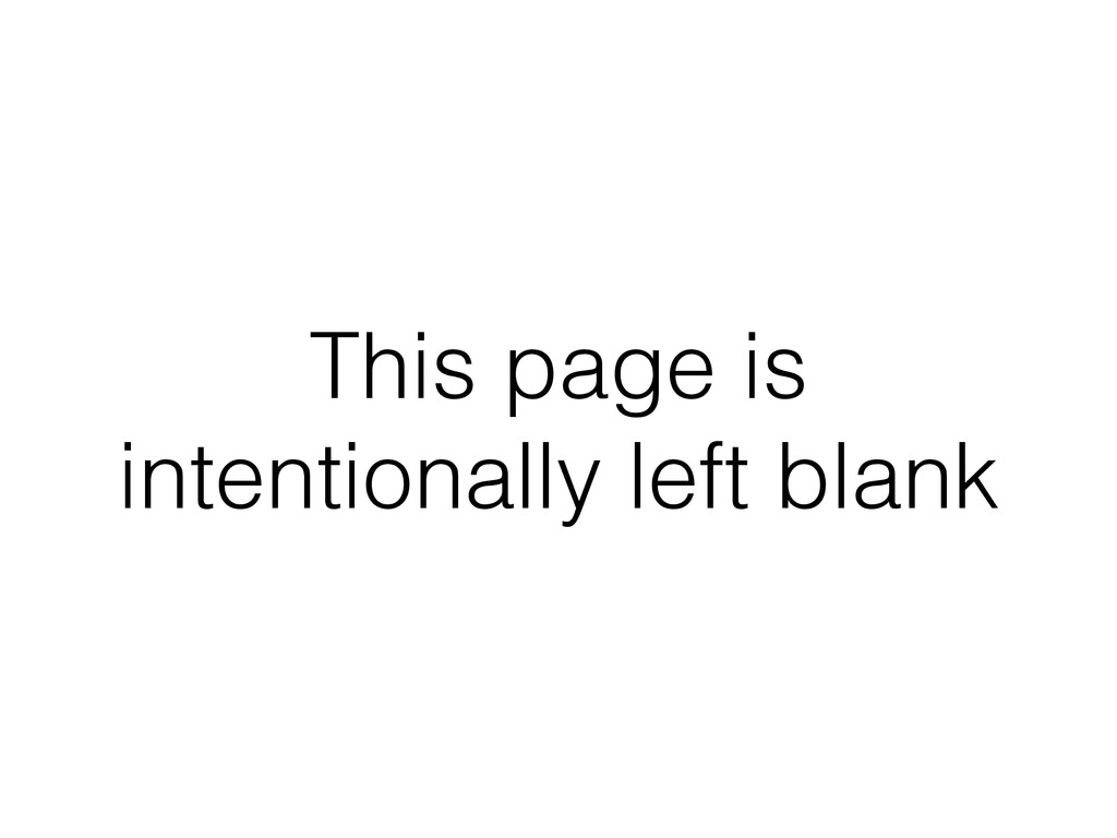 This page is intentionally left blank