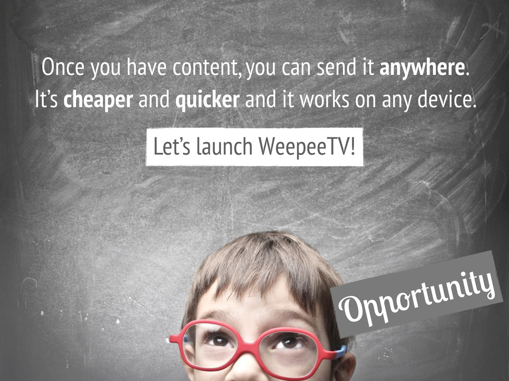 O r Once you have content, you can send it anyw...