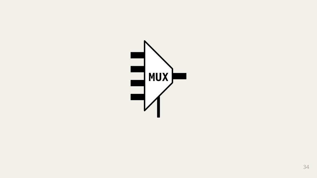 34 MUX