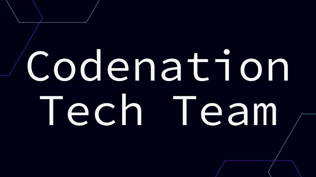 Codenation Tech Team