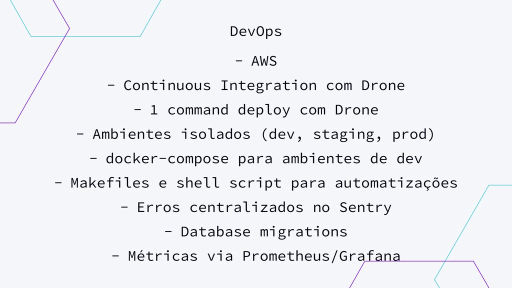 DevOps - AWS - Continuous Integration com Drone...