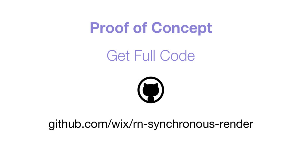 Proof of Concept Get Full Code github.com/wix/r...
