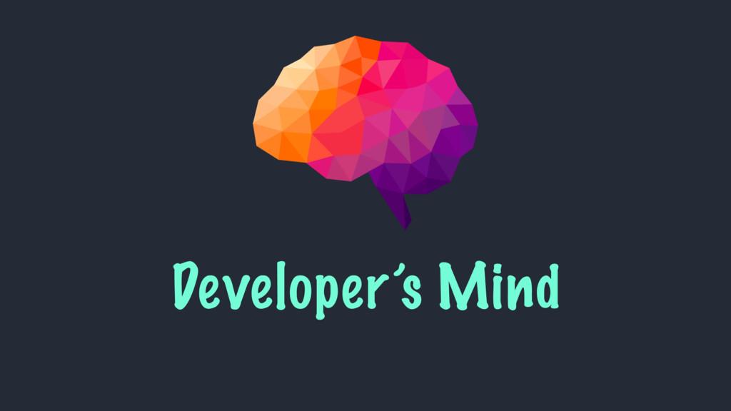 Developer's Mind
