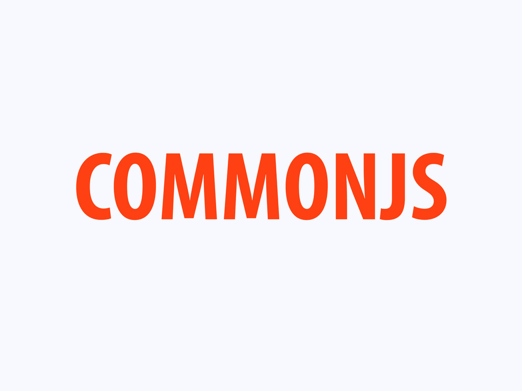 COMMONJS