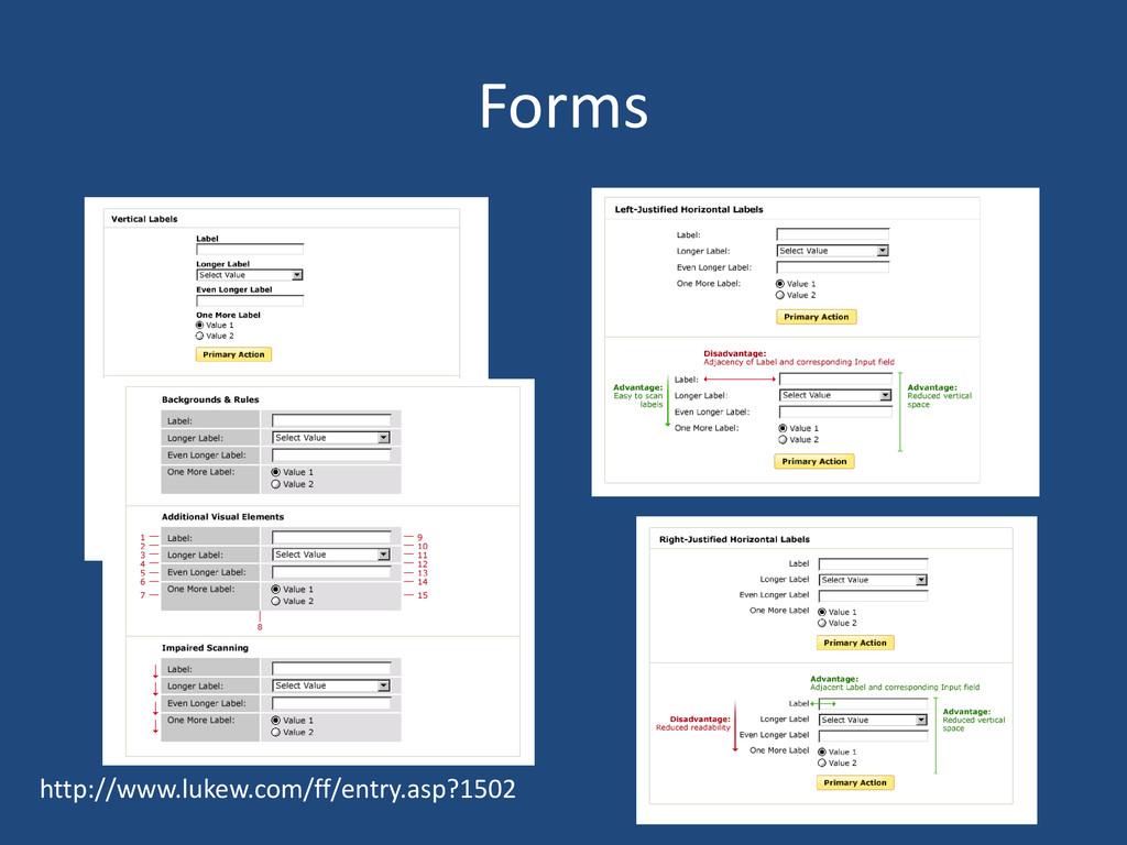 Forms http://www.lukew.com/ff/entry.asp?1502