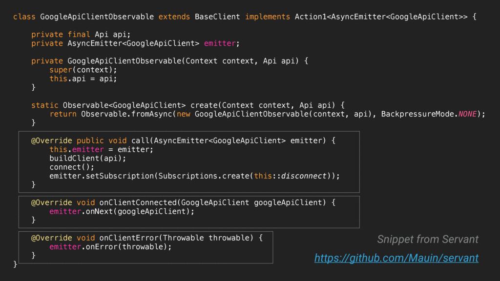 class GoogleApiClientObservable extends BaseCli...
