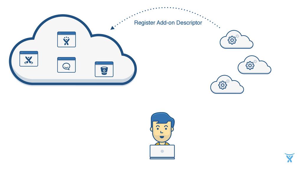 Register Add-on Descriptor