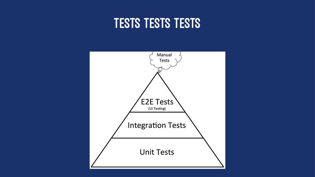 TESTS TESTS TESTS
