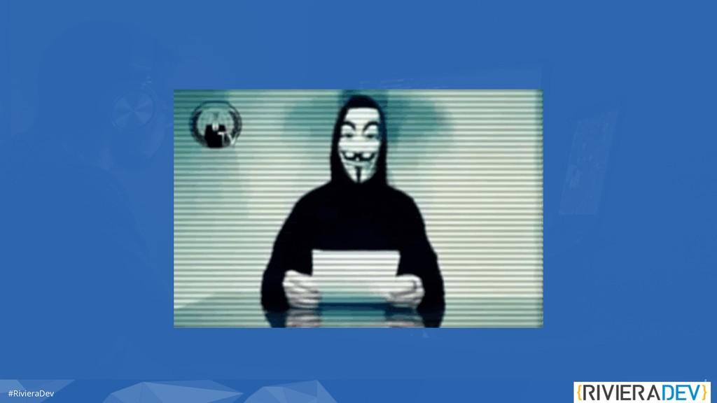 #RivieraDev Who Are IoT Hackers ?