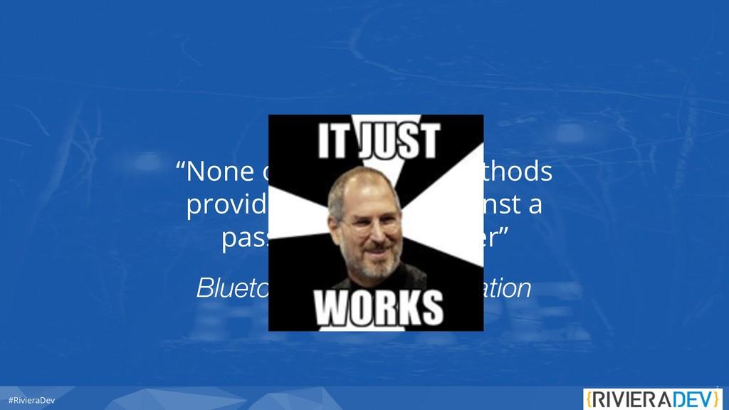 "#RivieraDev Bluetooth Core Specification ""None ..."