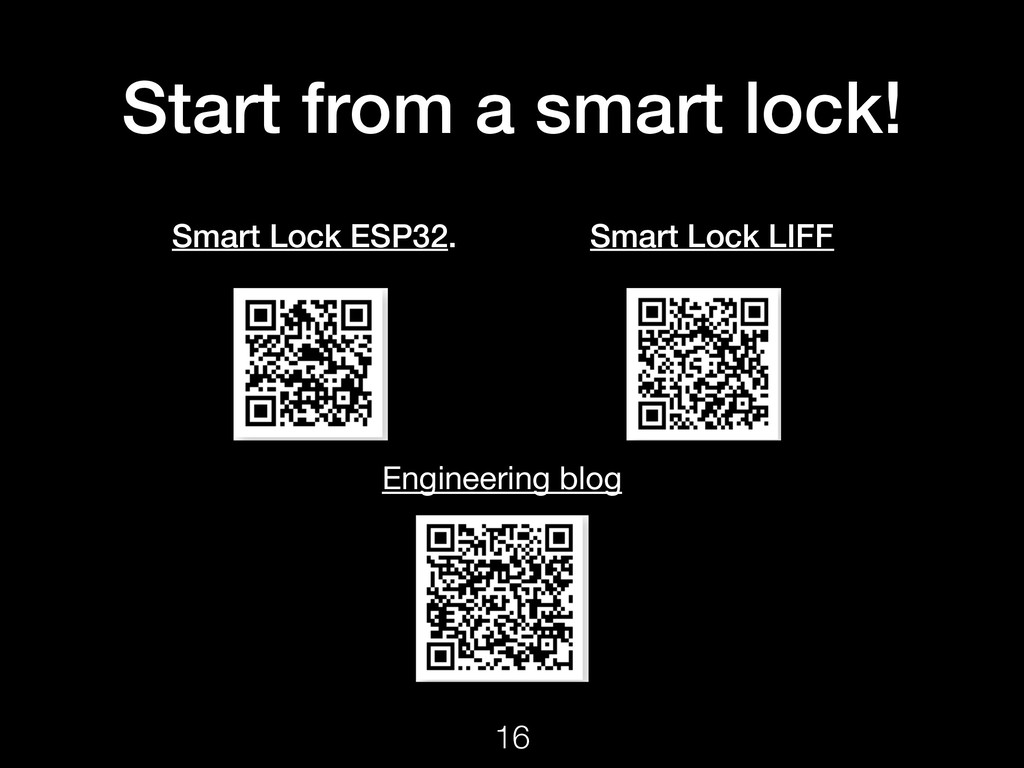 Start from a smart lock! Smart Lock ESP32. Smar...