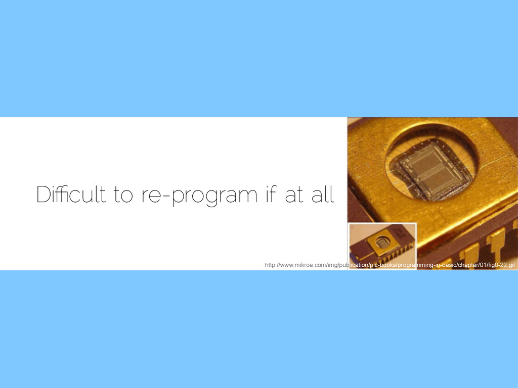 Di!cult to re-program if at all http://www.mikr...