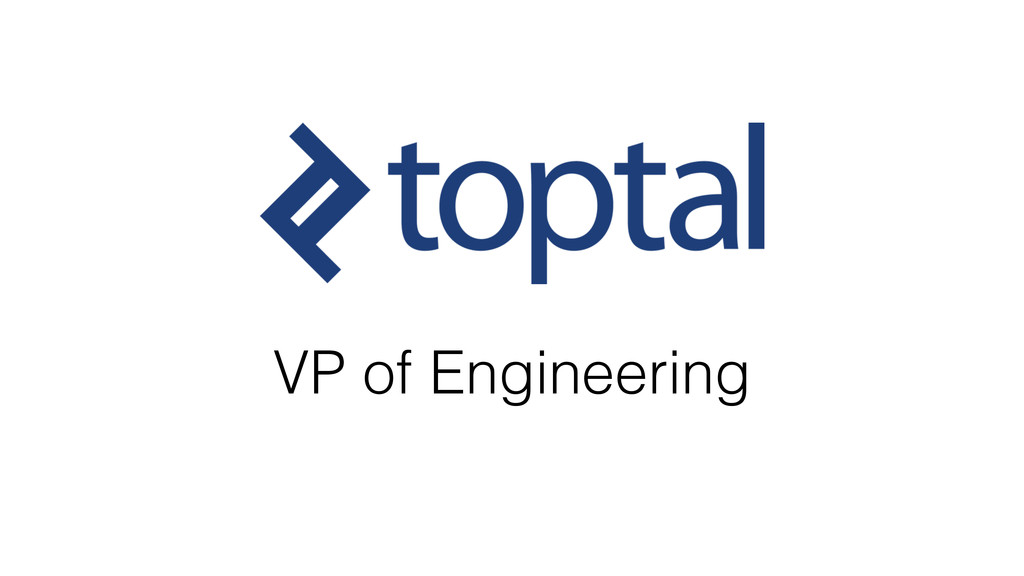 VP of Engineering
