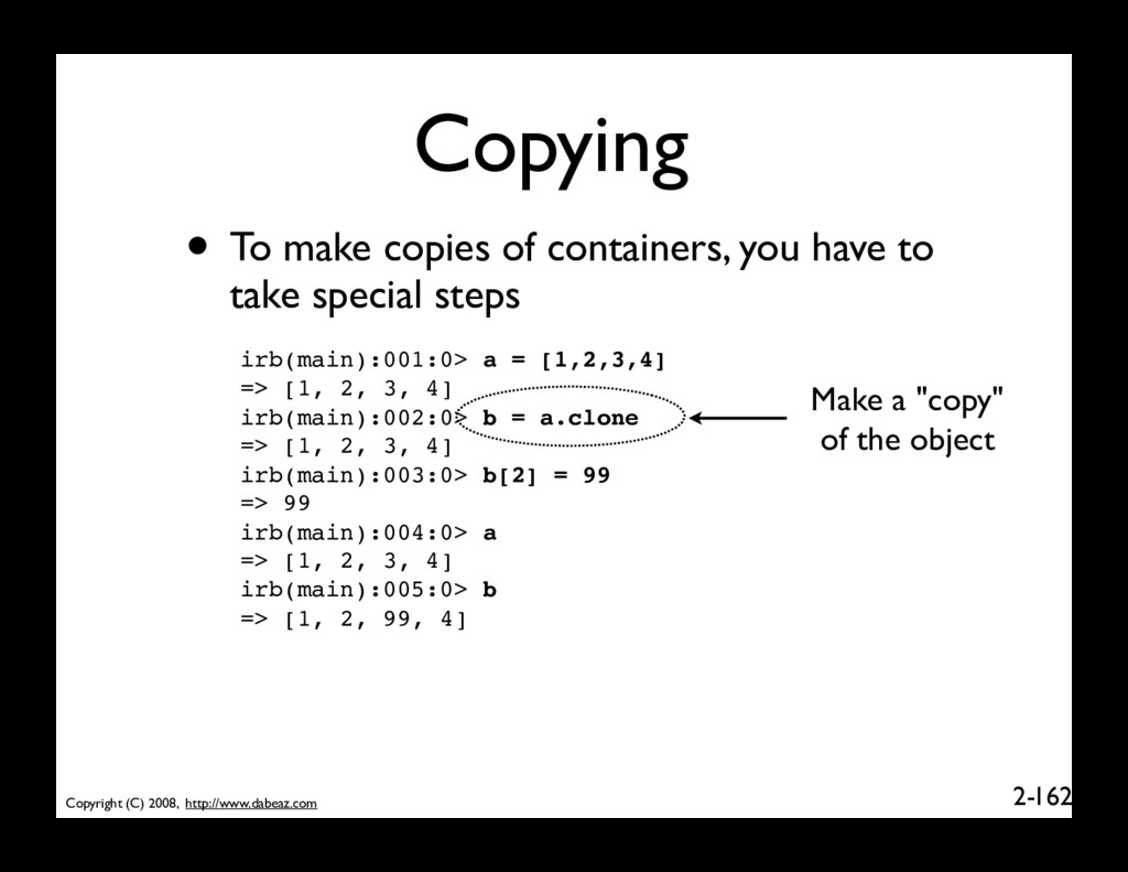 Copyright (C) 2008, http://www.dabeaz.com 2- Co...