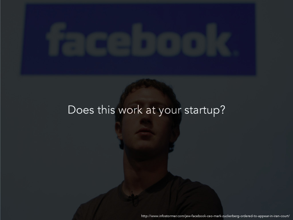 Does this work at your startup? http://www.info...