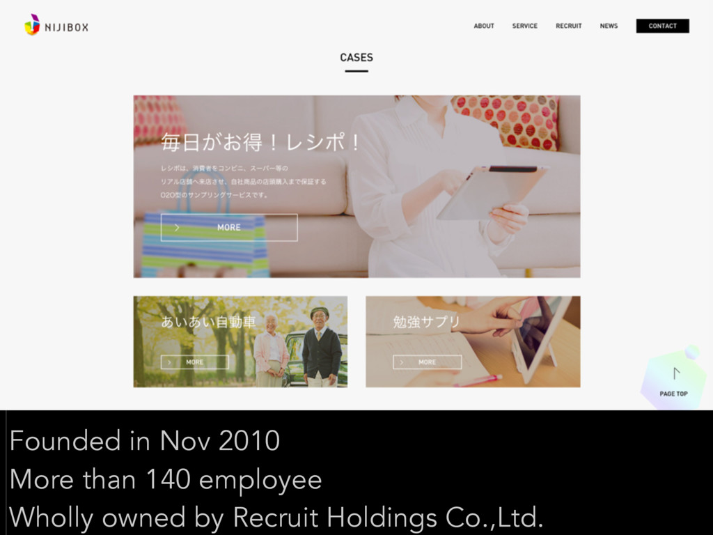 Founded in Nov 2010 More than 140 employee Whol...