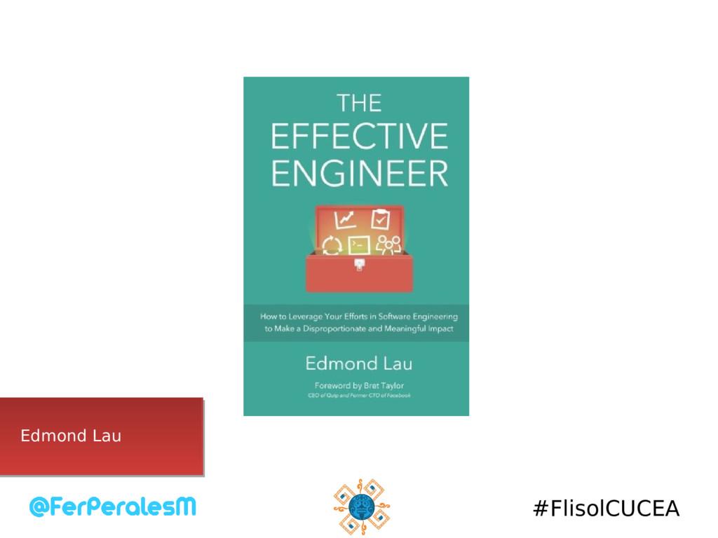 #FlisolCUCEA Edmond Lau