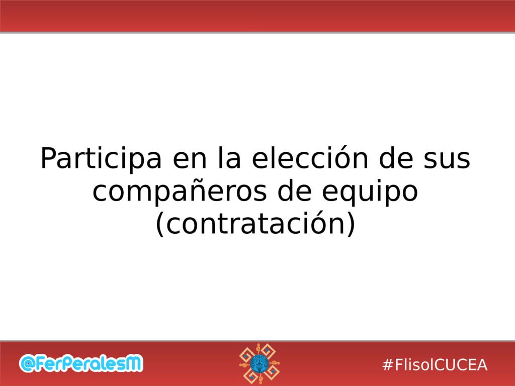 #FlisolCUCEA Participa en la elección de sus co...
