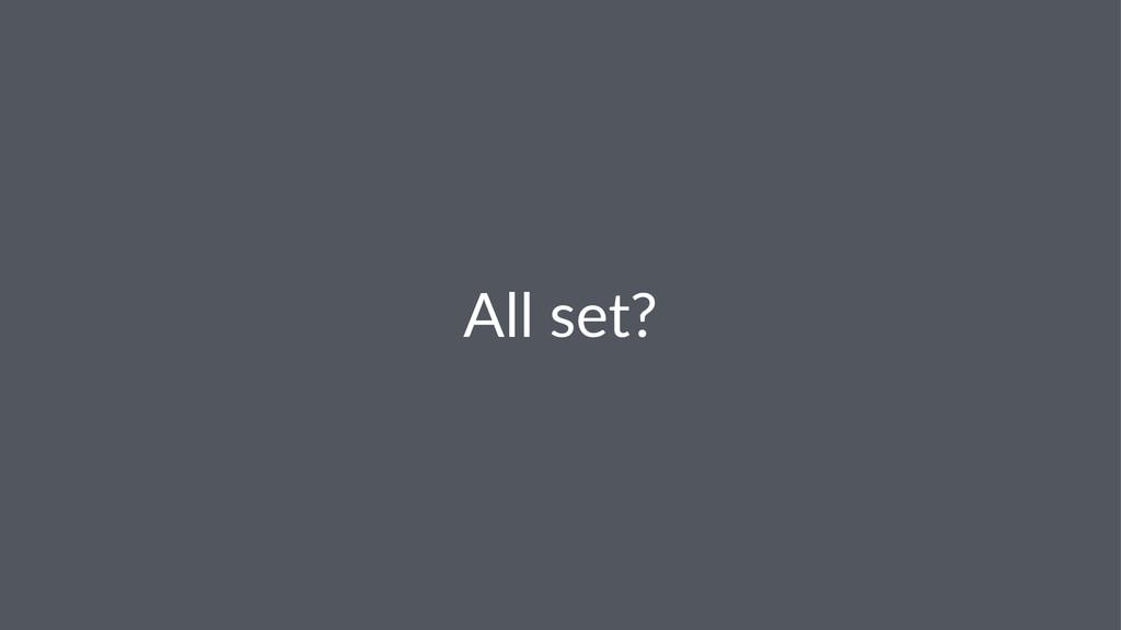 All#set?