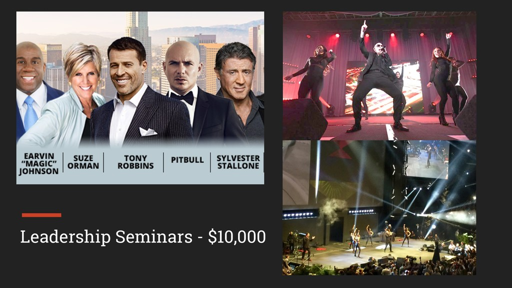 Leadership Seminars - $10,000