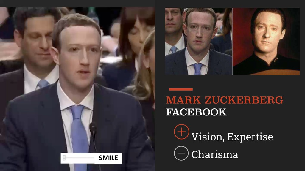 Vision, Expertise MARK ZUCKERBERG FACEBOOK SM...