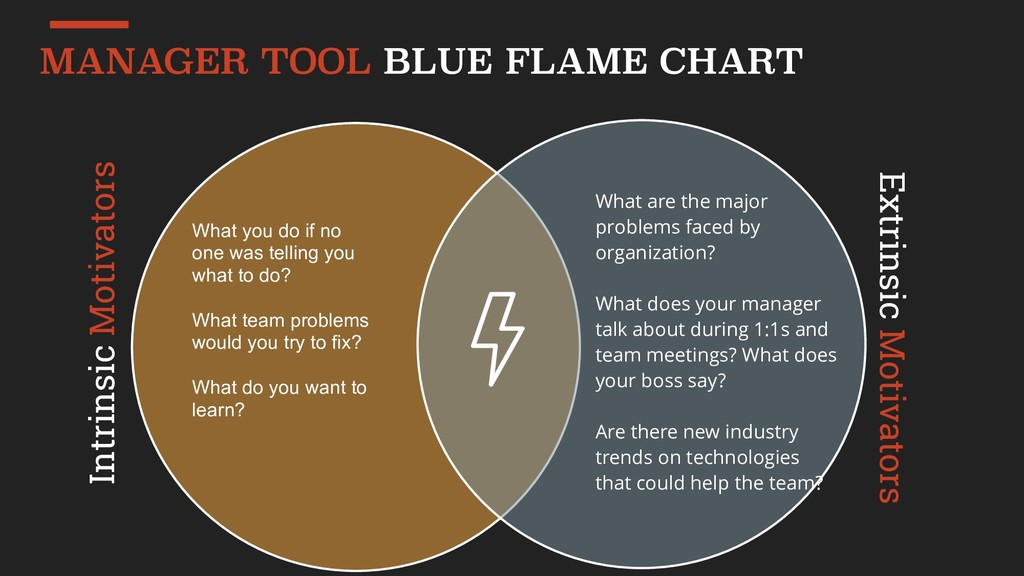 MANAGER TOOL BLUE FLAME CHART Intrinsic Motivat...