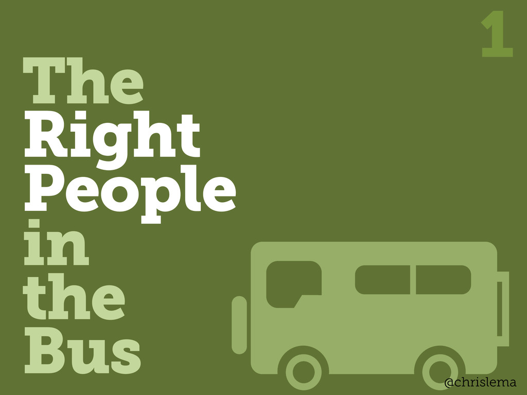 The Right People in the Bus 1 @chrislema