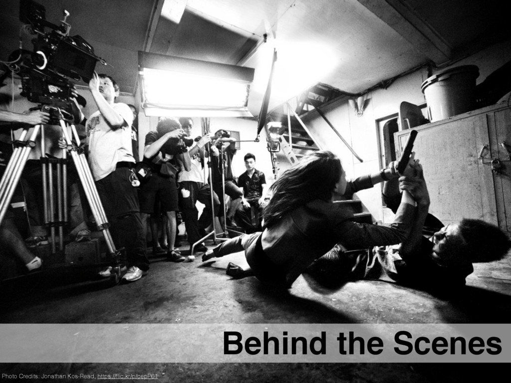 Behind the Scenes Photo Credits: Jonathan Kos-R...